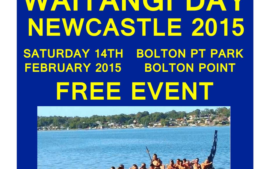 Waitangi Celebrations in Newcastle – Saturday 14th February