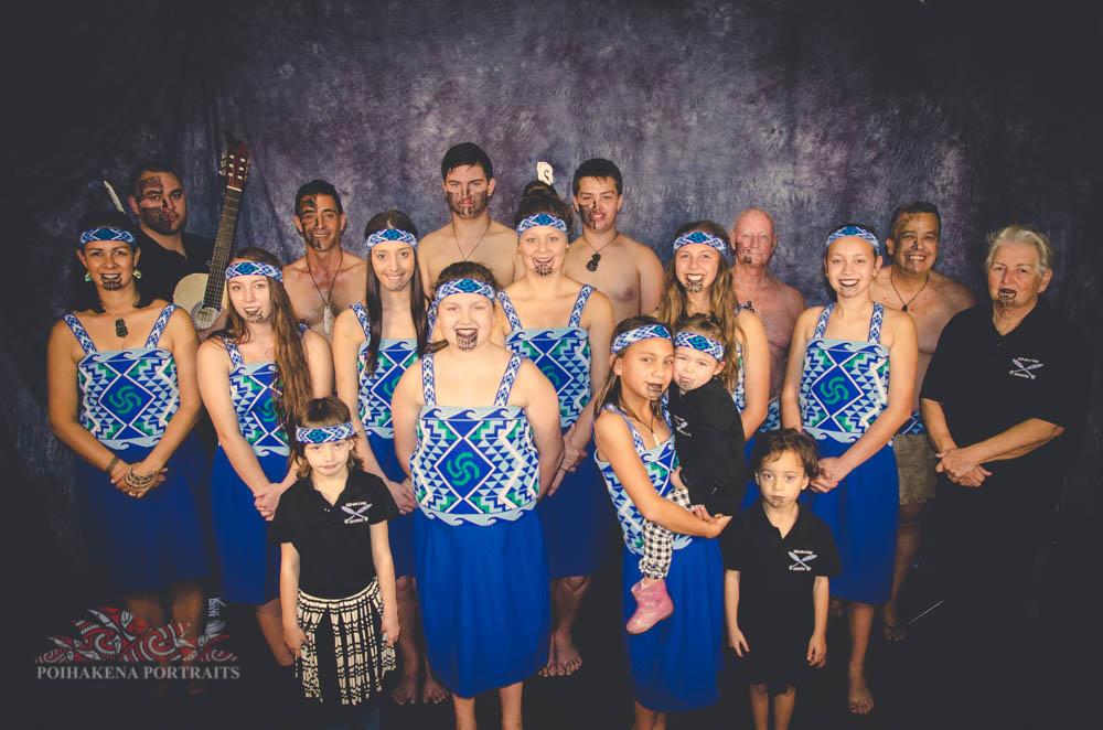 Members of the Nga Hau e Wha  Newcastle Maori Club